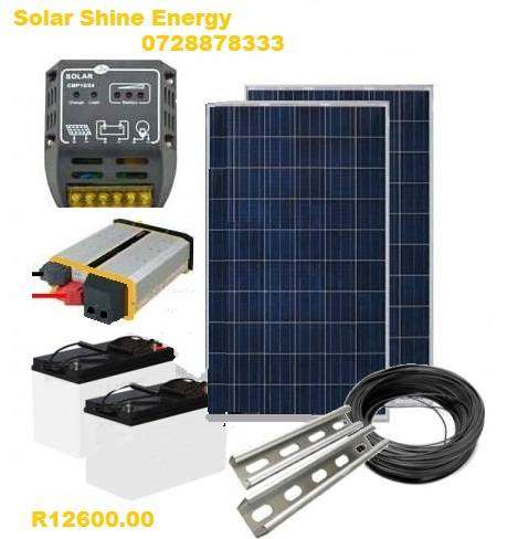 SOLAR SHINE ENERGY, SOLAR STARTER KIT 0