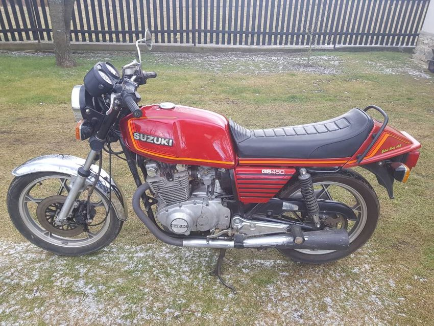 Suzuki GS 450 0