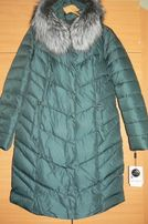 Уступлю.Куртка женская р.-50-52.Зимняя,мех натуральный.Пуховик