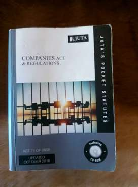 Companies Act and regulations
