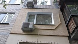 Утепление фасадов, квартир, балконов, высотные работы