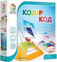 Колір Код. Цветовой Код Smart Games. Развивающая головоломка