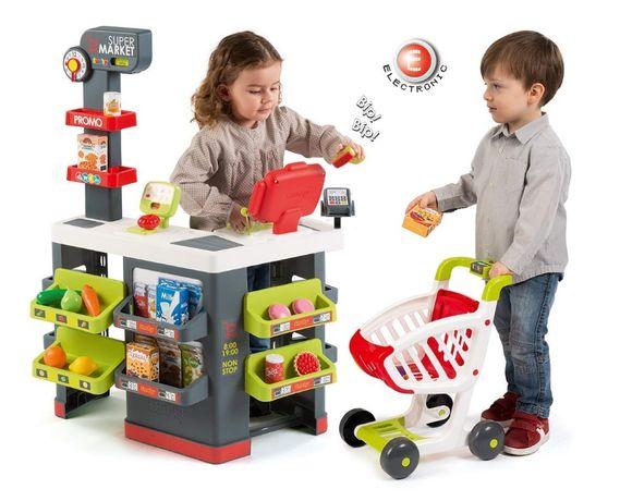 БЕСПЛ.ДОСТАВКА Интерактивный супермаркет Smoby City Market 350213 Луцьк - зображення 5
