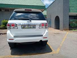 Toyota Fortuner 2012 model still looking neww