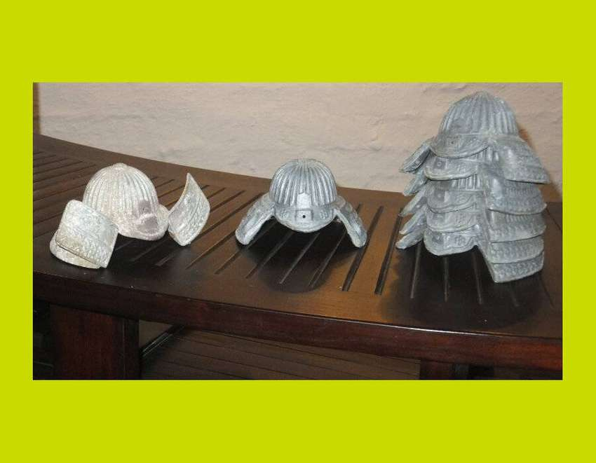 Miniature Lead Samurai Helmets - Priced individually (SKU 22) 0