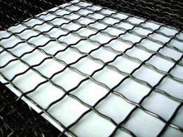 Сетка канилированная (рифленная) из проволоки Ø 2-6 мм. Киев