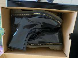 Black dr martins boots. Brand new