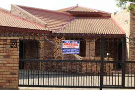 Beautiful home in a safe and secure area in Riviera park, Mahikeng.