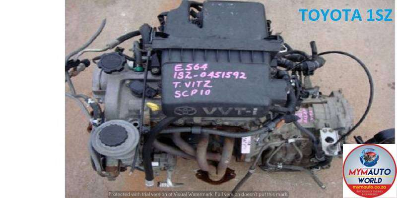 USED TOYOTA YARIS 1.0L-1SZ ENGINES FOR SALE
