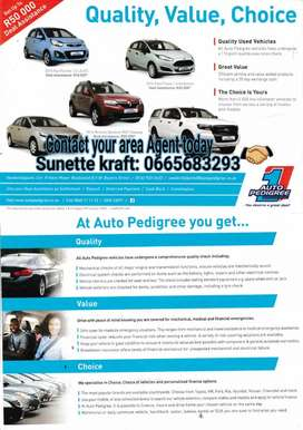 Thinking about your new car think Auto Pedigree.