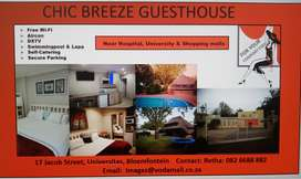 QUESTHOUSE STAY BLOEMFONTEIN