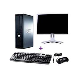 Dell Optiplex 780 (Tower, monitor, keyboard and mouse)..