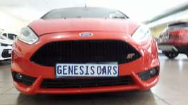 Ford fiesta Hatchback 1.6 ST manual red colour