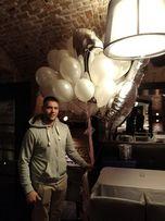 Balony z HELEM warszawa Dostawa / Odbiór / Party Akcesoria