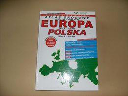 Atlas drogowy Europa Polska wyd. B. Piętka
