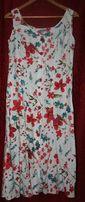 Льняное летнее платье в цветы Per Una