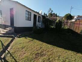 One bedroom house in Northdale, with ensuite,loung,kitchen, fully fenc