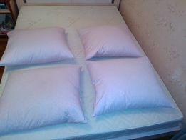 Продам подушки пух- перо