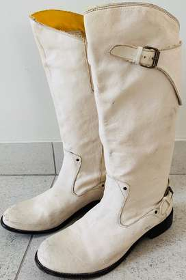 Long leather boots - Diesel