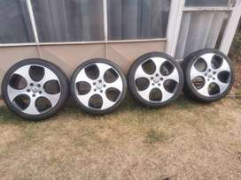 2011 Golf 6 Gti 18 Inch  OEM Mag rims and tyres