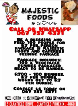 Feeding package for R7 per person