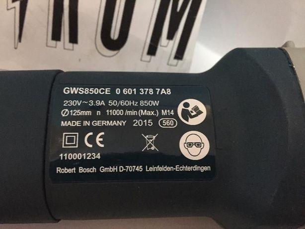 Болгарка Bosch GWS 850 CE (Бош) c регулятором оборотов Киев - изображение 4