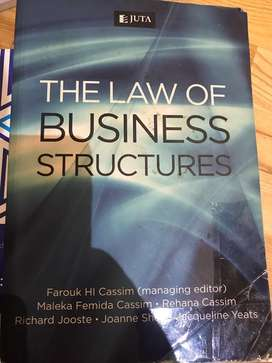 The Law of business structures