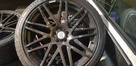 Brabus 22inch rims and tyres .