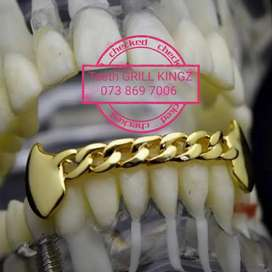 Chain Teeth Grillz Lowers