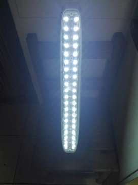 Led charging light and coolerbox.