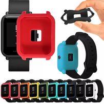Новые защитные силиконовые бампера накладки для Xiaomi Amazfit Bip