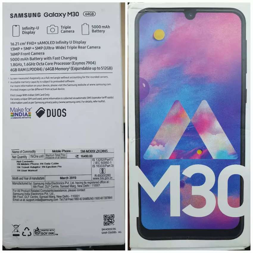Samsung Galaxy M30 Boxed Sealed 0