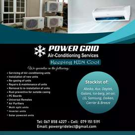 POWER GRID AIR-CONDITIONING SERVICES