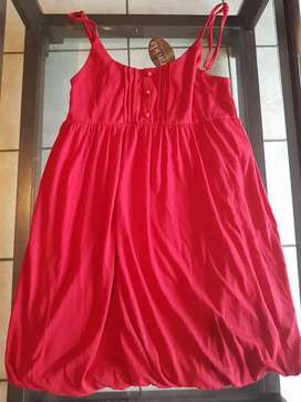 Gravida bubble top Small red