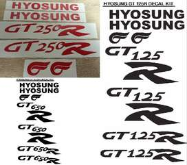 Hyosung decals vinyl cut sticker kits