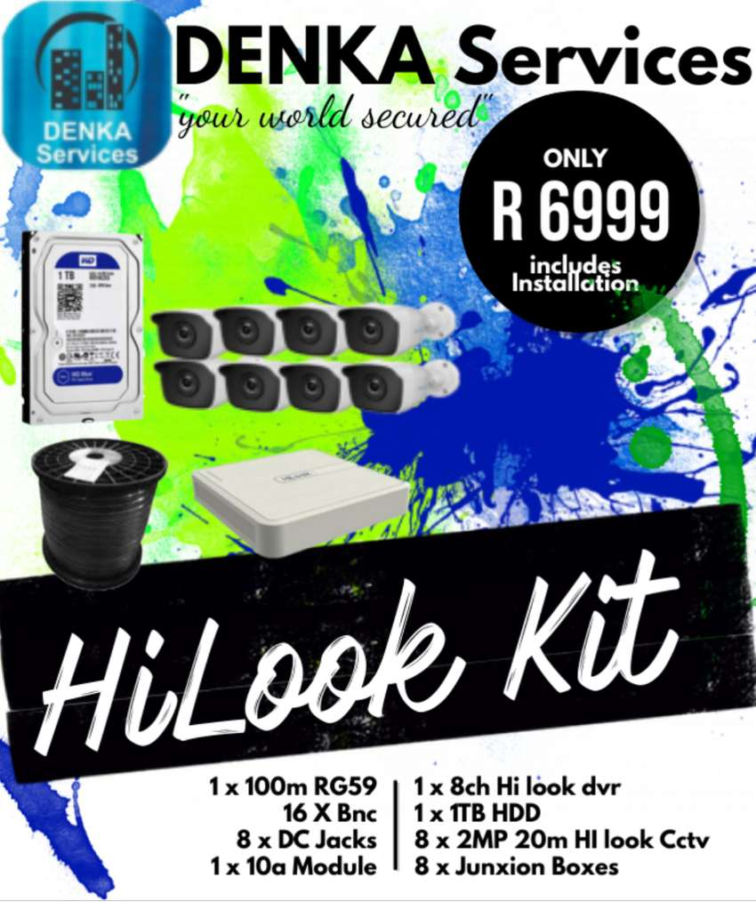 HiLook 8ch Camera Kit