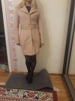 Пальто, пальтишко женское Love Republic персиково цвета