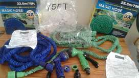 R250 brand new expandable magic hose green and blue 22.5m