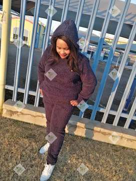 The Blue TEDDY BEAR TRACKSUIT by Emmah fashion and Co PTY Ltd