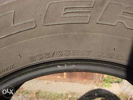 Резина Б/у 265/65R17 всесезонка Bridgestone