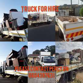4tonne truck for hire