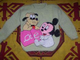 свитерок на девочку 4-5 лет