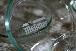 MEßMER - jedyny komplet spodek/podstawka pod worek od herbaty