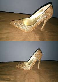 Image of Gold Women's Pumps(size 7)