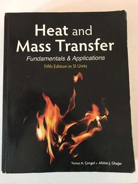 Heat and Mass Transfer fundamentals & Applications- fifth edition