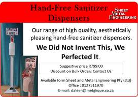 Hand-free Sanitizer Dispensers