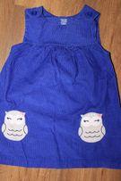 Вельветовое платье сарафан платьице на девочку 18 мес Картерс Carter's