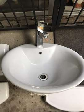 Used Basin with Tap