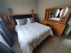 Full Bedroom Furniture set and Double bed