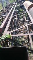 Вставки стрелы пневмоколесного крана КС-5363 секции строительный кран